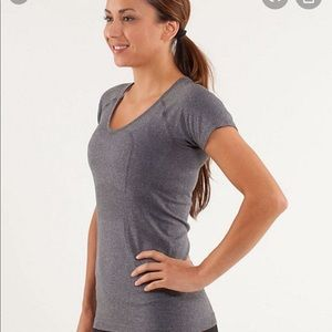 Lululemon Tech V Neck Swiftly Tee Shirt Vneck